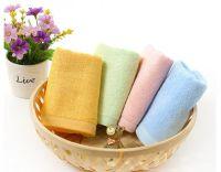 Bamboo fiber face towel, Bamboo towel
