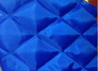 Quilted Lining fabric (polyester taffeta fabric quilted with polyester wadding)