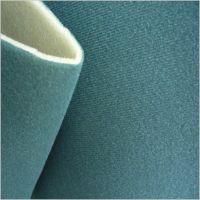 Fabric laminated with sponge