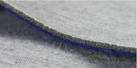 Fabric laminated with sponge