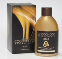 COCOCHOCO GOLD BRAZILIAN KERATIN TREATMENT BLOW DRY HAIR STRAIGHTENING 250ML KIT