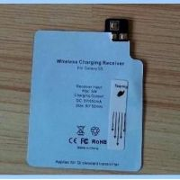2014 new high quality Qi Standard Wireless Charger Receiver tag For Samsung Galaxy S5 I9600 G900 Qi Charging Adapter hot sale