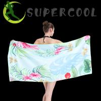 Microfiber Suede Towel Printed Beach Towel