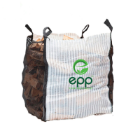 "Factory direct price 35""L x 35""W x 43""H breathable mesh super sacks best quality and low cost potatoes bags bulk vented log bags"