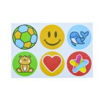 Cartoon natural mosquito repellent sticker