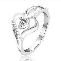 1ct Heart Shaped Moissanite Ring