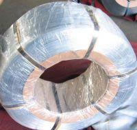 High carbon galvanized spring steel wire
