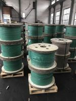Phosphate coated steel wire for wire drawing