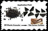 Black PP Plastic Graunles/China Gold Supplier/Direct Manufacturer