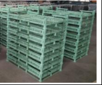 Customize Warehouse Plug-in Engine storage rack Metal Pallet, logistics