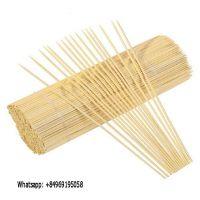 Bleached bamboo sticks