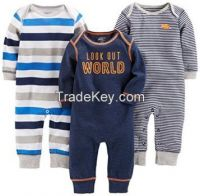 Simple Joys by Carter�s Baby Boys� 3-Pack Jumpsuits