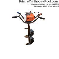 Gasoline Earth Auger Drilling Machine Broca Ahoyador Hoyadora maquinarias