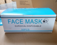 Disposable Medical Dustproof Surgical Face Mouth Masks Anti PM2.5 Anti Influenza Breathing Safety Masks Face Care Elastic