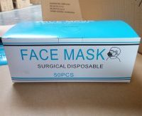 Disposable 2 Ply Tie Masks  2 ply surgical mask  2 ply face mask white