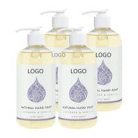 OEM Lavender & Vanilla Natural Liquid Hand Soap 12 Ounce Moisturizing Gel Hand Wash Antibacterial Sanitizer