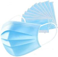 Covid 19 Disposable  - Anti Dust - Breathable Three Layer - Blue
