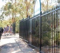 Galvanized Security Fence