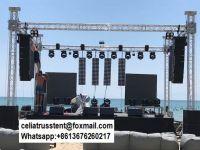 Outdoor concert truss aluminum structure customized