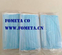 Disposable 3ply Non-woven Dust Face Mask