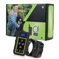 Rechargeable Remote Range 2400m Dog Training Shock Vibrate Collar
