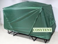 Outdoor Camper Tent 215*80*120cm Double layer 210D Oxford PU2000mm Coated Foldable Aluminum Frame Single Plus Camp Bed