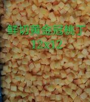 Frozen Yellow peach dice