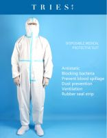 Disposable hospital protective suit(aseptic)65g