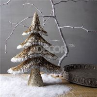 Glitter Artificial Christmas Tabletop Decoration Tree