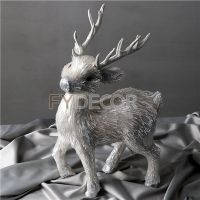 Christmas Deer Handmade Craft Reindeer Decaration
