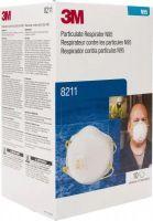 3M Particulate Respirator 8211, N95 80 EA/Case