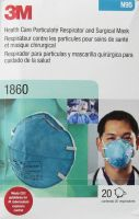 3M Health Care Particulate Respirator and Surgical Mask 1860S, Small, N95 120 EA/Case