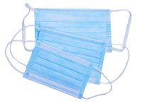 Antivirus ear loop face mask Disposable Face Mask 3 ply surgical mask at Wholesale Rate