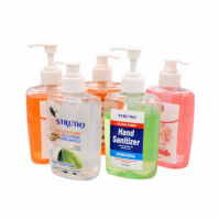 Bulk Quantity  Antibacterial 75% alcohol disposable Dettol hand sanitizer gel kills 99.9% germs 500ml 200ml 50ml