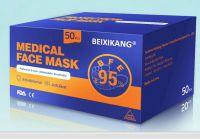 Non Sterile 3 Layer Disposable Mask Non-Woven Protective Mask Anti Bacterial 50 pcs/Box