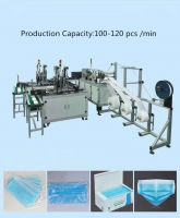 Automatic Medical Surgical Face Mask Machine/Face Mask Making Machine