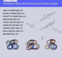 Hydraulic pumps, motors, seal kits