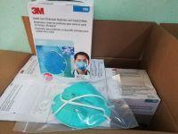 3M Facemask  N95 N99 FFP2 FFP3 Face Mask 8246 9542V 9541V 8247 1860 8210 R95 Respirator 3Mask Face Shield