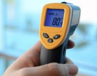 Non Contact Body Object Digital Beeper Alarm Infrared Thermometer