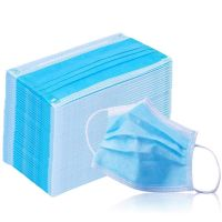 Anti Virus Medical Standard Sanitary Disposable 3 Ply Earloop Face Mask -50 Pcs/Box