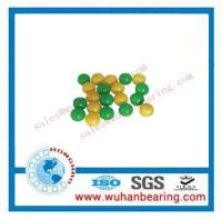 glass balls, plastic balls and other material