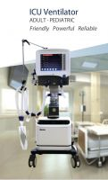 ICU Ventilator - Friendly Powerful Reliable
