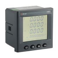 smart current volt kwh power meter LCD display AMC96L-E4/KC with RS485 4DI/2DO