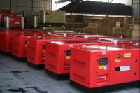 silent Diesel Gernerator Set ranging from 10KVA - 2000KVA, with famous engines and alternators