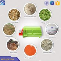 China horizontal feed mixer TMR fodder mixer