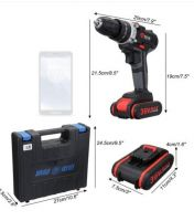Electric lithium battery impact wrench electric screwdriver