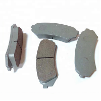 Guangzhou factory Japanese car auto spare part metal ceramic brake pads