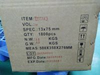 Disposable negative pressure blood collection container