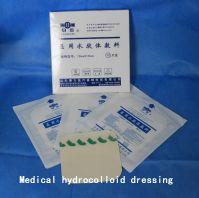 Medical hydrocolloid dressing