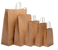 Kraft Paper Bag For Shopping